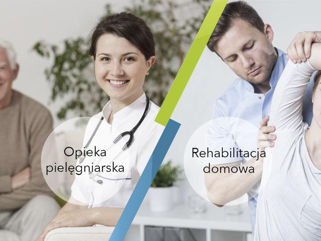 Opieka pielęgniarska irehabilitacja domowa